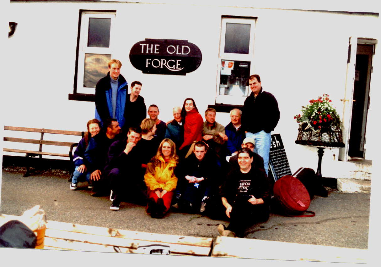 Old forge,Knoydart 2001